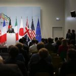 El presidente estadounidense Barack Obama durante una conferencia de prensa a la conclusión de la cumbre del G7 en Garmisch-Partenkirchen, Alemania.