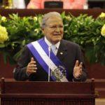 Sánchez Cerén en su discurso de primer año de Gobierno