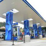La estación de servicio, localizada en Santa Elena, hará uso de paneles solares, luz natural y luces LED. Foto EDH / Xenia Zepeda