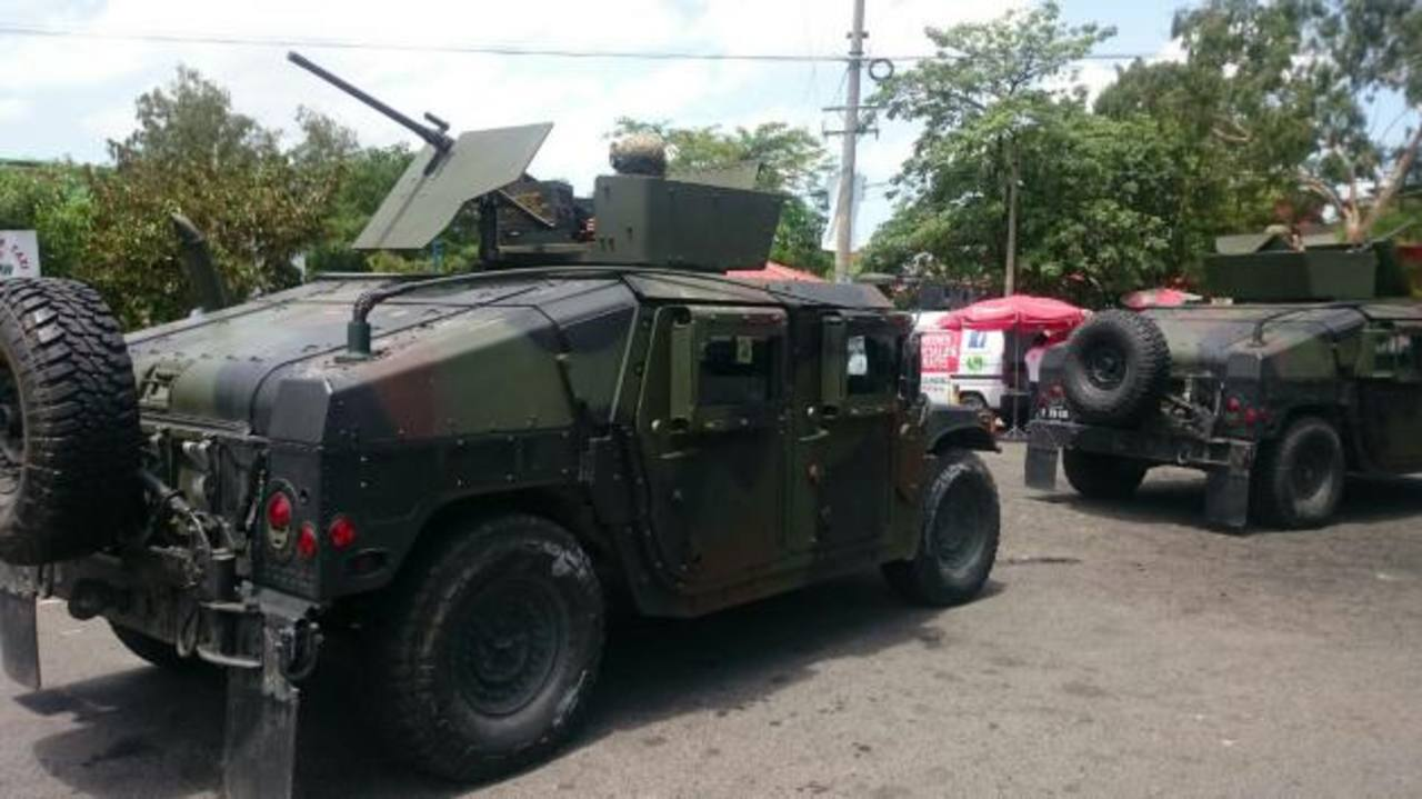 Despliegan ejército en Apopa por amenaza de pandillas