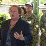 La embajadora Mari Carmen Aponte señaló que no hay duda de que a EE. UU. le importa El Salvador. Foto EDH / Leonardo González