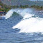 Emiten alerta nacional estratificada por incremento de olas y continuidad de lluvias