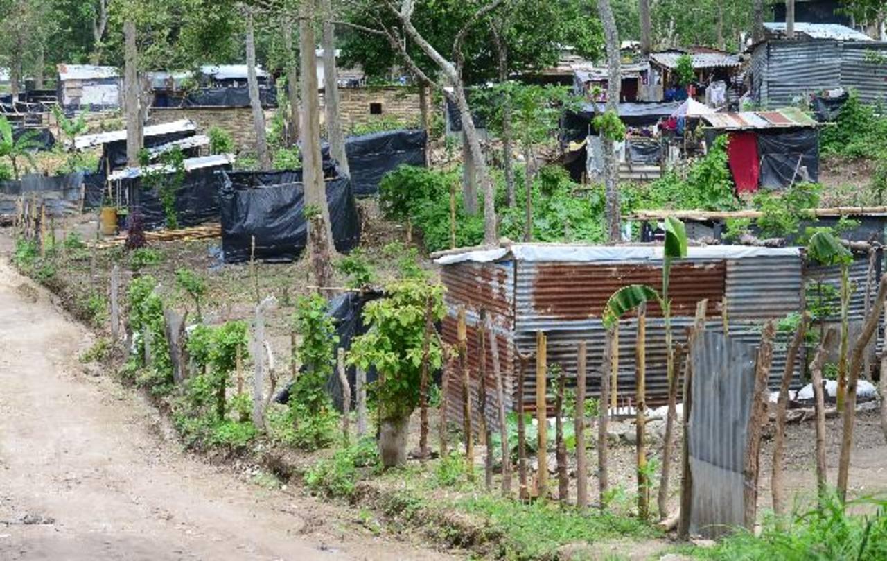 Comunidad Rutilio Grande será desalojada por un fallo de ayer del Juzgado 1o. de Paz de San Martín, los terrenos pertenecen a Ciudad Mujer. Foto EDH / Archivo.