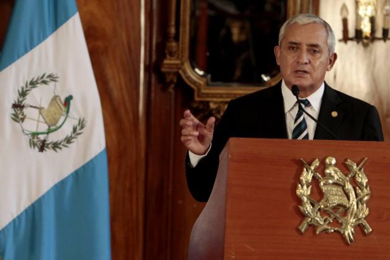 Corte de Constitucionalidad frena antejuicio a Otto Pérez