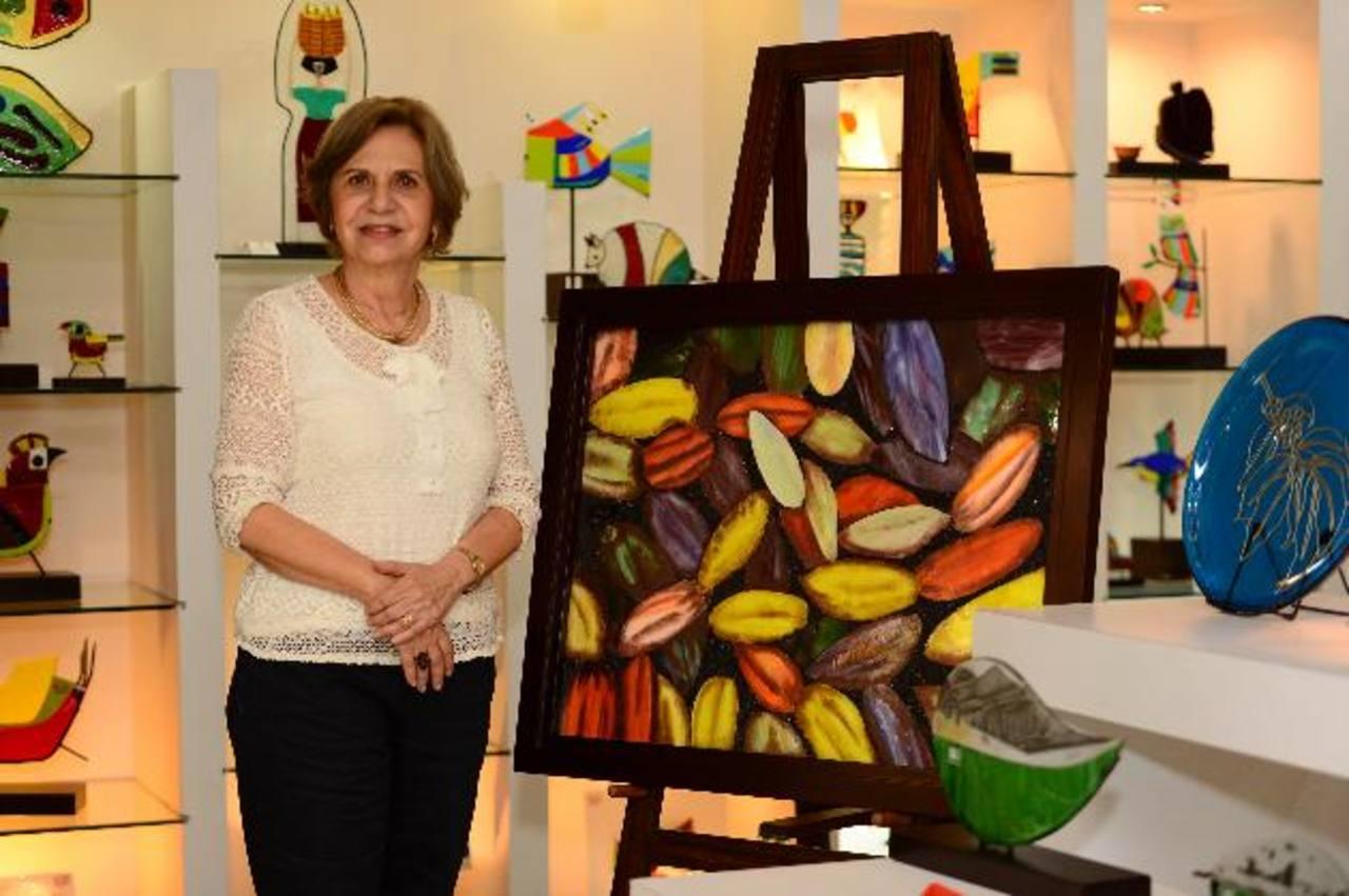 El trabajo artístico de Llort es reconocido dentro y fuera del país. foto EDH / Jorge Reyes