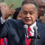 El presidente de la Asamblea de Venezuela y segundo al mando del chavismo, Diosdado Cabello, ha arremetido contra medios críticos. foto edh /archivo