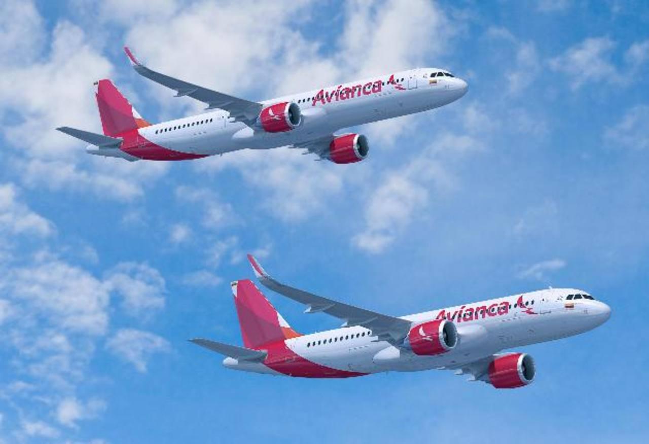 Aviones Airbus de la familia A320neo, de los que Avianca ha ordenado 100. _FOTO EXPANSIÓN/Cortesía de Avianca.