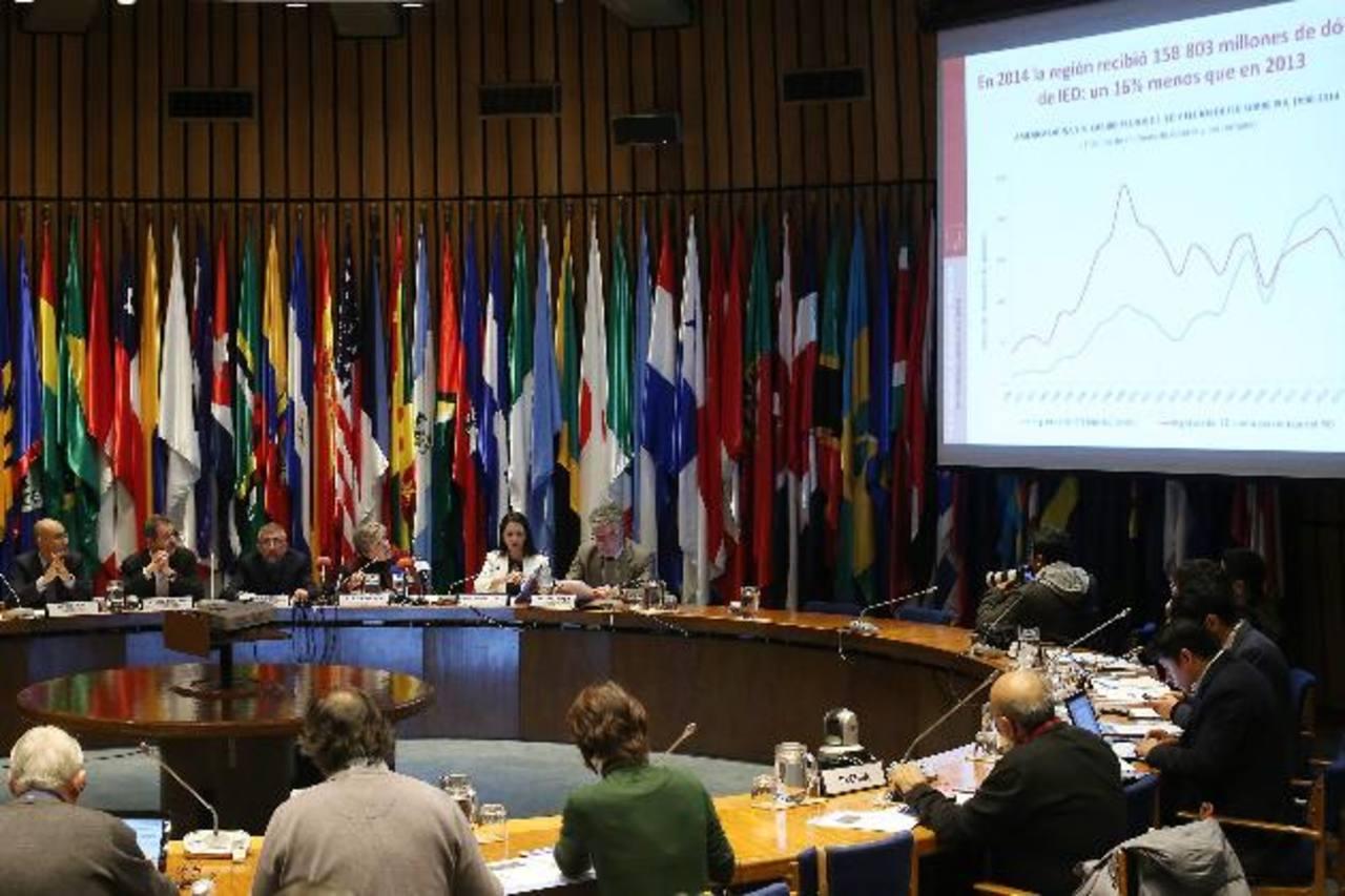 Alicia Bárcena, secretaria ejecutiva de la Comisión Económica para América Latina y El Caribe (Cepal) FOTO archivo efe.