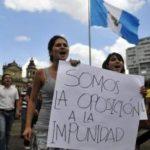 11 detenidos en Guatemala por desfalco millonario en el Ministerio de Gobernación