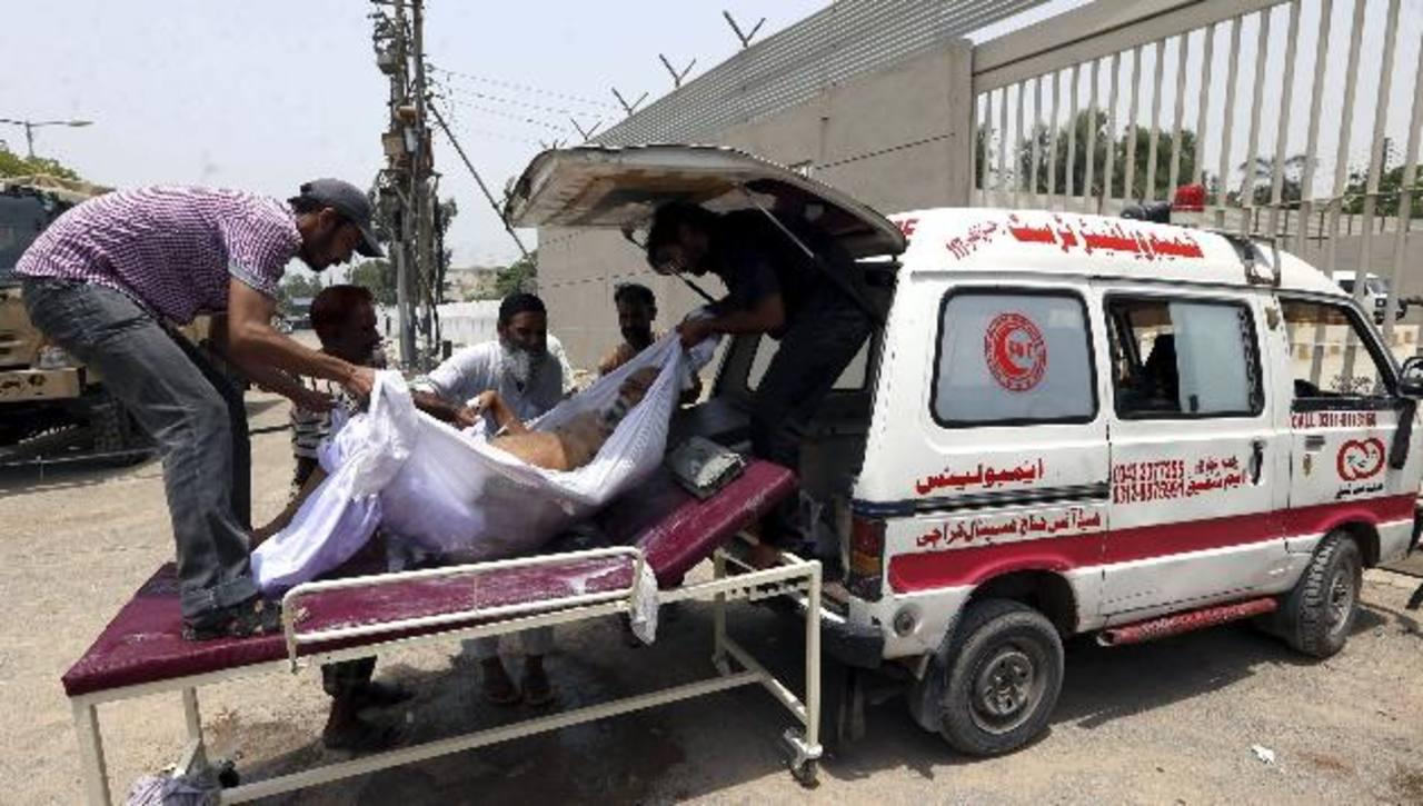 Mueren al menos 436 por ola de calor en Karachi, Pakistán