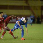 El pasado martes, la Selecta eliminó a Saint Kitts & Nevis. Bonilla destacó con un doblete en el Cuscatlán. Foto EDH/M. Hernández