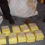Decomisan 9.2 toneladas de cocaína durante 2015 en Costa Rica