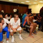 De los 90 imputados en el caso, sólo 45 comparecieron ayer en la audiencia. Foto EDH / Jorge Reyes.