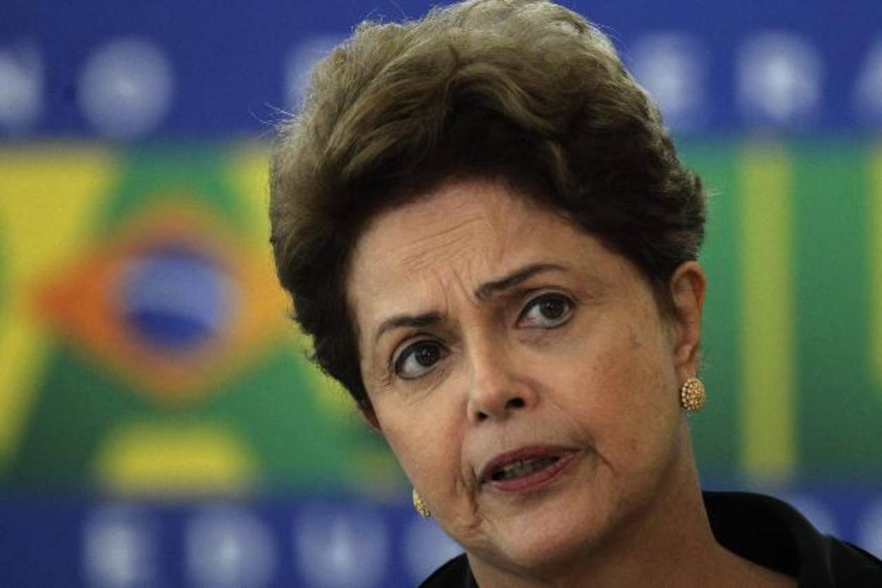 Dilma Rouseff, presidenta de Brasil ya no protestará contra gobierno de Venezuela. Foto EDH / archivo