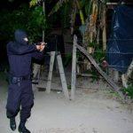 Tras el ataque a la base militar en San Martín la PNC desarrollo un operativo donde hubo un presunto pandillero muerto y otro capturado.