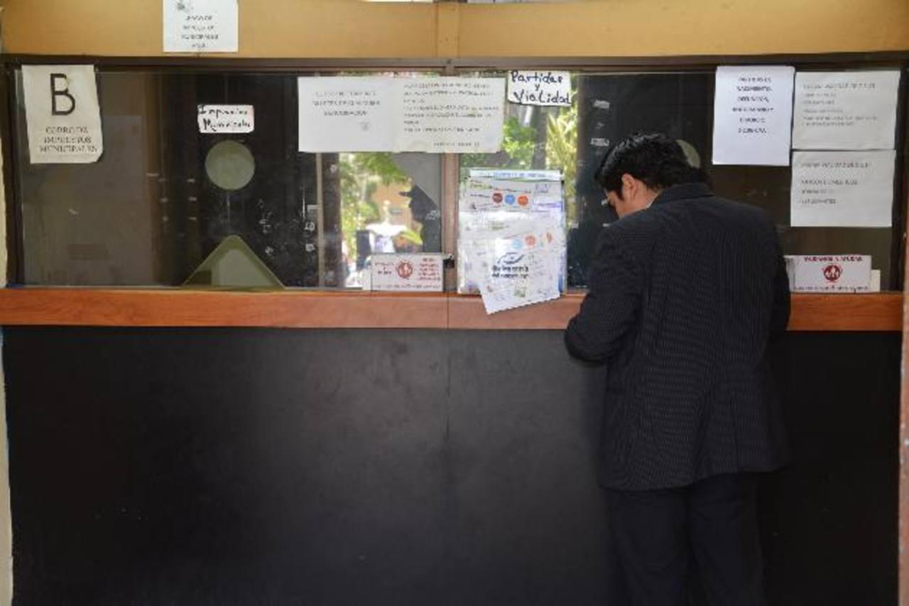 La nueva administración municipal busca ordenar las finanzas y poder generar nuevos proyectos comunales. Foto EDH / Iris Lima