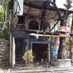 Incendio en El Tunco controlado por la comunidad