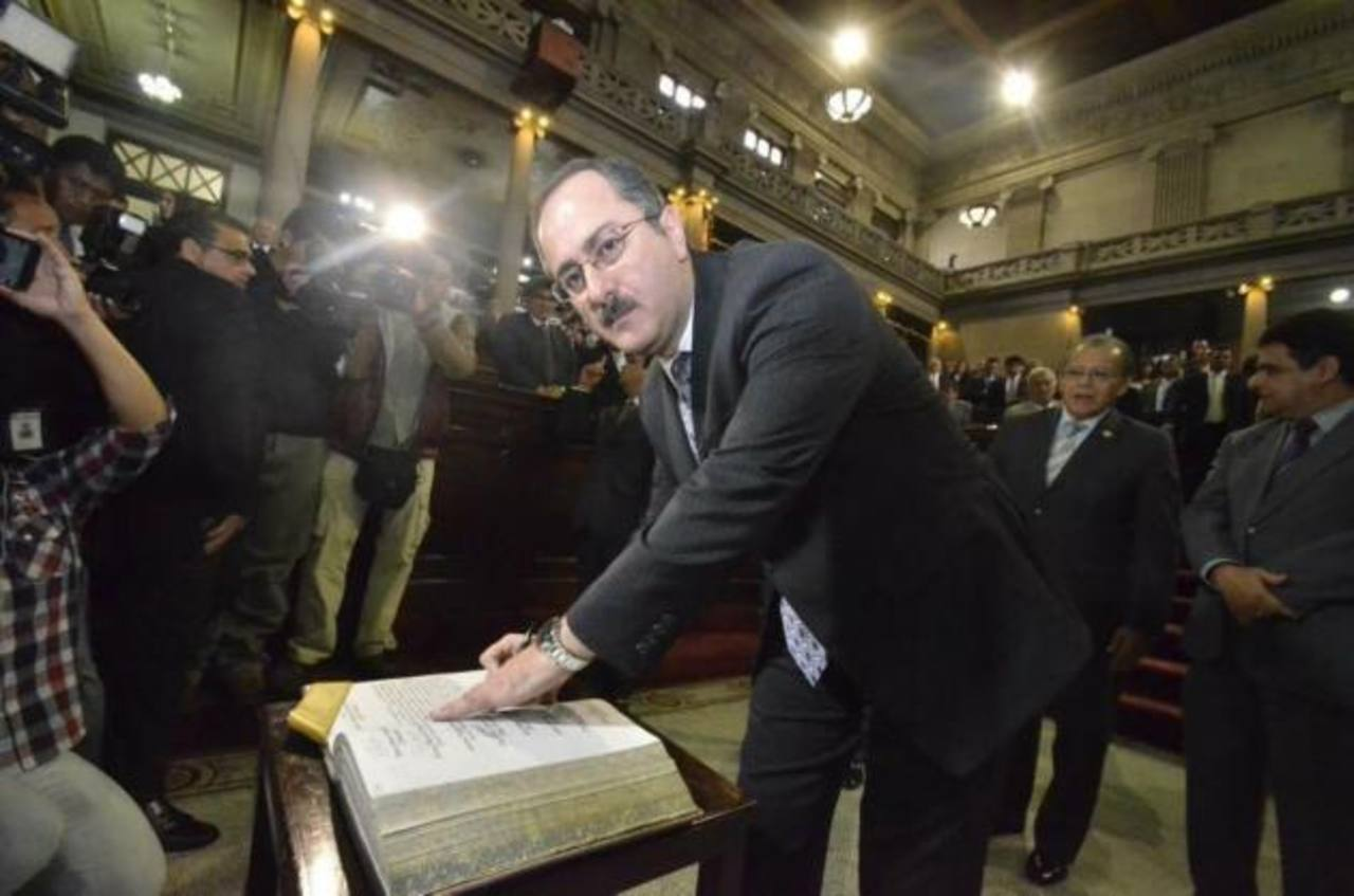 El diputado Pedro Muadi, expresidente del Congreso de Guatemala en el período 2013-2014. foto edh /
