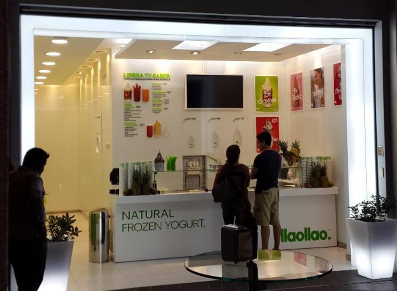 La primera tienda Llaollao abrió hace 15 días en Multiplaza. El representante de la marca es RGD inversiones, que se ha trazado un ambicioso plan de expansión.