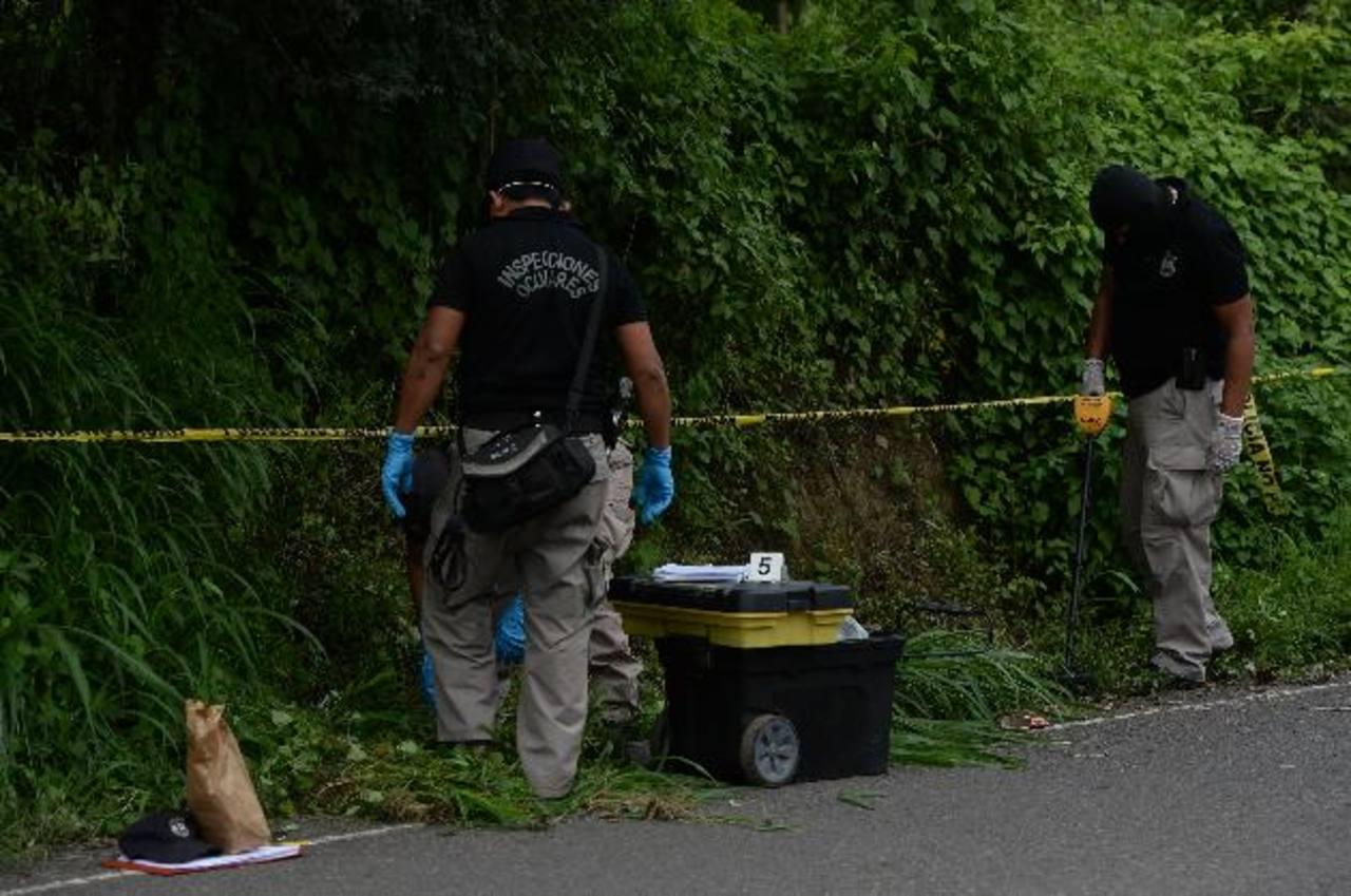 El ataque armado en el que murió la esposa de un agente de la PNC fue perpetrado el 13 de junio pasado. Foto EDH /Archivo