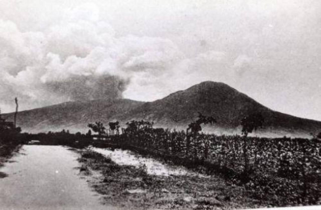 FOTOS: Se cumplen 98 años de la última erupción del volcán de San Salvador