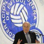 Fesfut no tiene postura oficial por la dimisión de Blatter en la FIFA. Foto EDH/Archivo