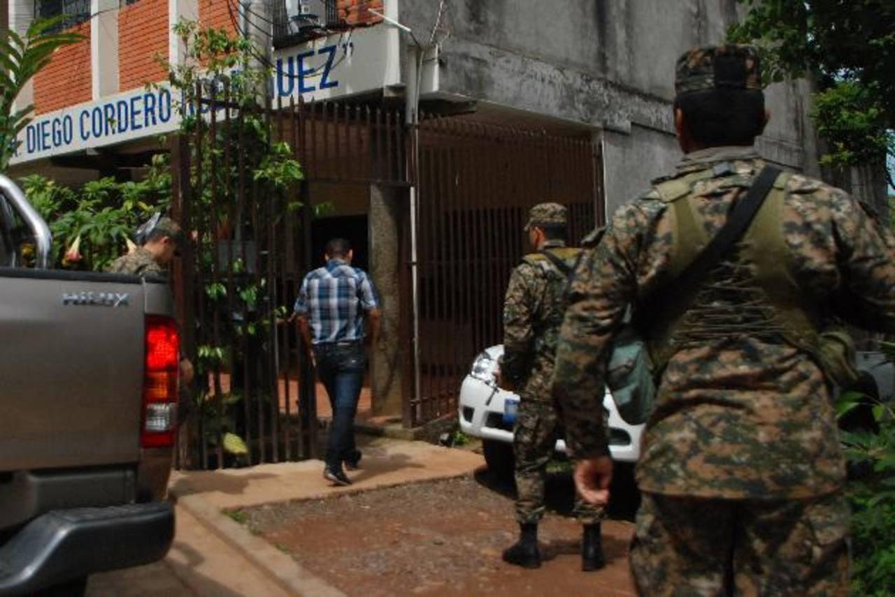 Los militares de la 3a. Brigada de Infantería habrían permitido el ingreso de ilícitos a penal. Foto EDH /Lucinda Quintanilla