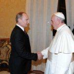 Putin visitará al Papa en el Vaticano