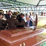 FOTOS: Entierran restos de subteniente atacado por pandilleros en Ususlután