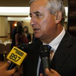 El presidente de Guatemala, Otto Pérez Molina.