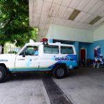 Las unidades de salud le prestan ambulancias al hospital de Morazán, según denuncias. Foto EDH / Mauricio Cáceres