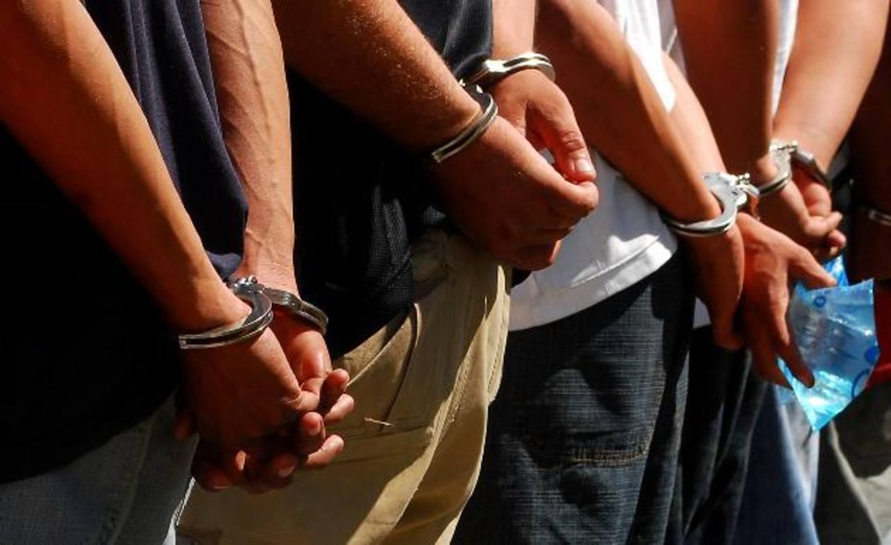 Capturan a 4 presuntos pandilleros salvadoreños que asaltaban en Guatemala