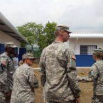 Soldados estadounidenses construyeron 15 aulas en escuela Estanzuelas, en Quezaltepeque, La Libertad.