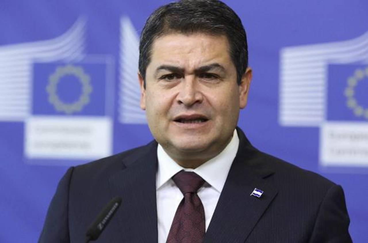 Juan Orlando López, presidente de Honduras.