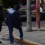 Un taxista fue asesinado en la calle Celis y 24a. Avenida Norte, al costado Poniente de mercado La Tiendona. Foto EDH/M. Villalta