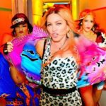 Madonna reúne a Beyoncé, Katy Perry y Miley Cyrus en su último video