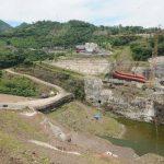 La construcción de la presa de El Chaparral quedó a medias luego de que se detectaran fallas técnicas. FOTO EDH /ARCHIVO