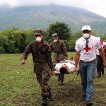 Se realizarán simulacros para concienciar a las personas sobre el riesgo que existe ante una erupción. Foto EDH / cortesía