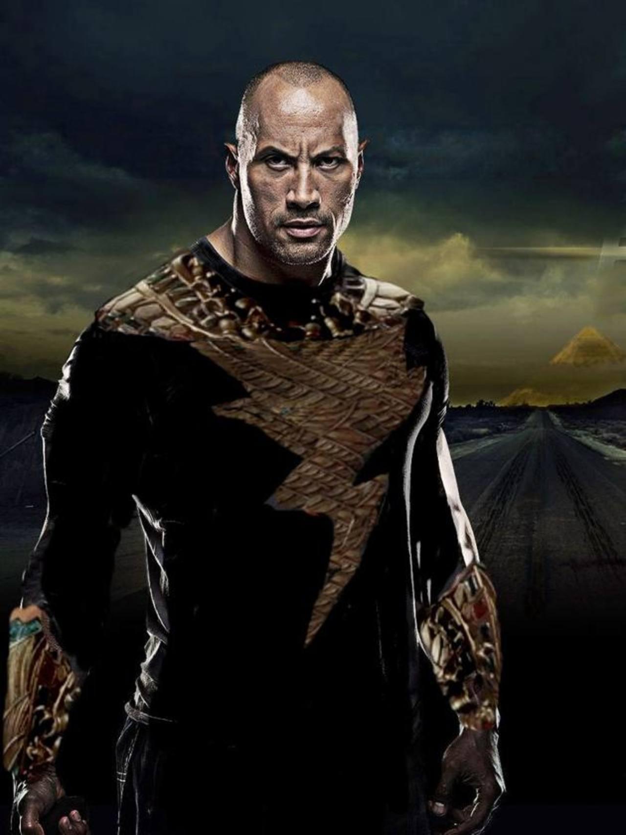 La roca se mete en la piel de Black Adam