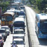 Bukele sugiere quitar separadores del Sitramss para agilizar tráfico