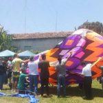 Realizan Festival del Globo en San Vicente. /