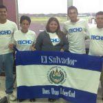 Representantes de TECHO El Salvador durante el encuentro 2015. foto edh / cortesíaDurante el evento, los representantes han realizado actividades donde comparten experiencias de trabajo comunitario.