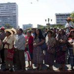 Campesinos en Guatemala convocan a marcha y piden la renuncia de Otto Pérez Molina