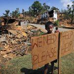 La ayuda escasea, crece el descontento en pueblos de Nepal