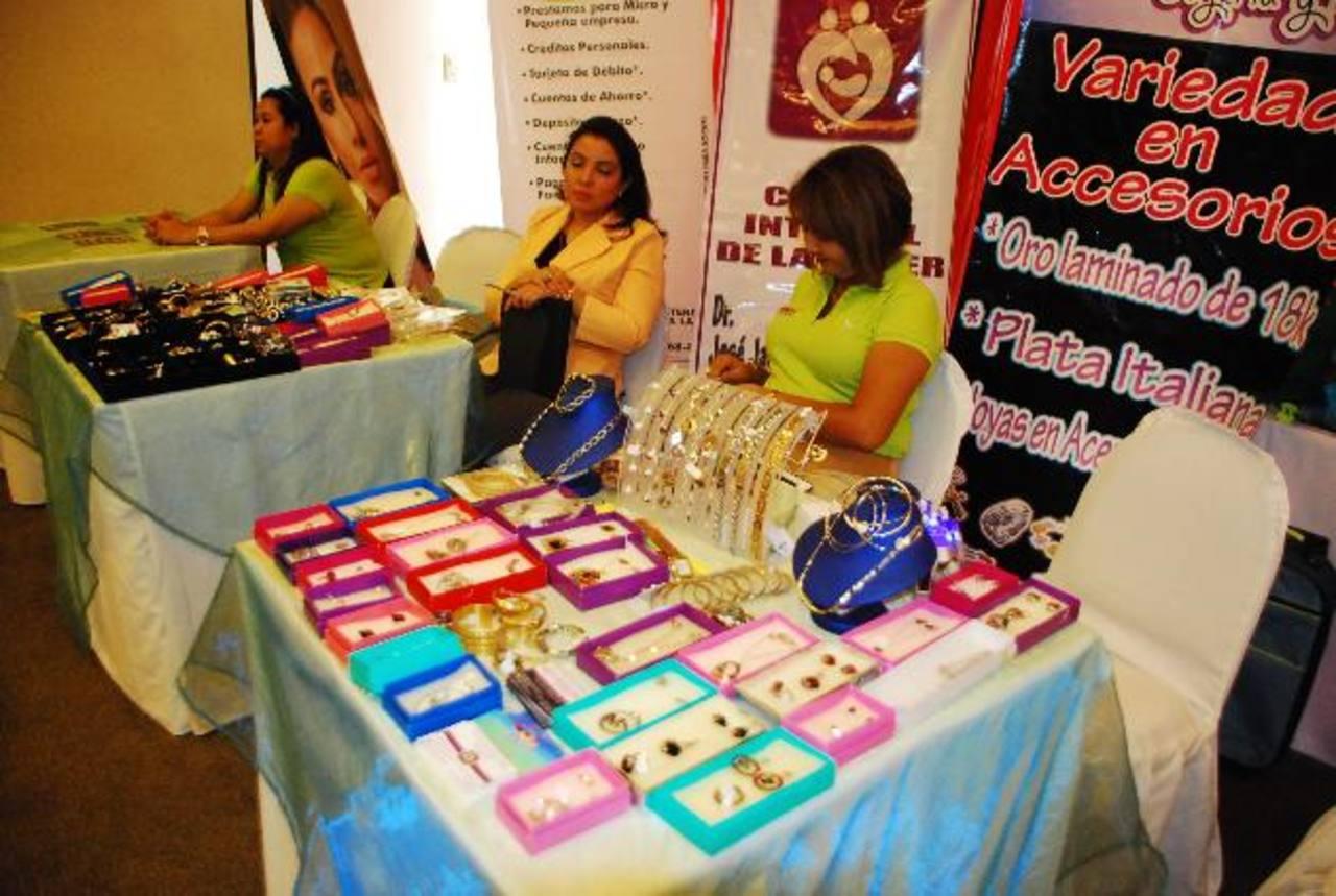 La actividad es solamente para el sector femenino empresarial del oriente. Foto EDH/ Archivo