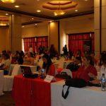 Los empresarias conocieron sobre temáticas que aplicarán en sus negocios. Foto EDH / Lucinda Quintanilla