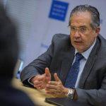 El editor del diario El Nacional, Miguel Otero, durante una entrevista ayer en Washington, EE. UU. fotoEDH/EFE