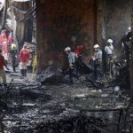 Suman 72 los muertos en el incendio de una fábrica en Filipinas