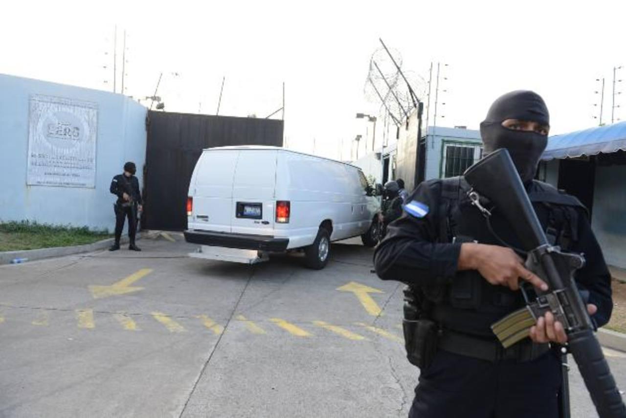 Varios cabecillas de pandillas han sido recluidos en el penal de máxima seguridad en Zacatecoluca, La Paz. Foto EDH /archivo