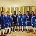 Quintanilla, Posadas, Ayala, Fuentes, Alvarado, Hernández y Gutiérrez, en EE. UU. Foto EDH